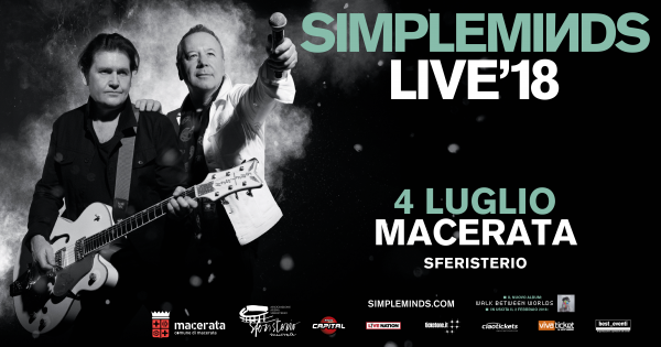 Simple Minds Sferisterio