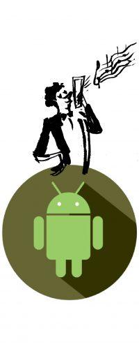 Illustrazione Android - Francesca Ballarini