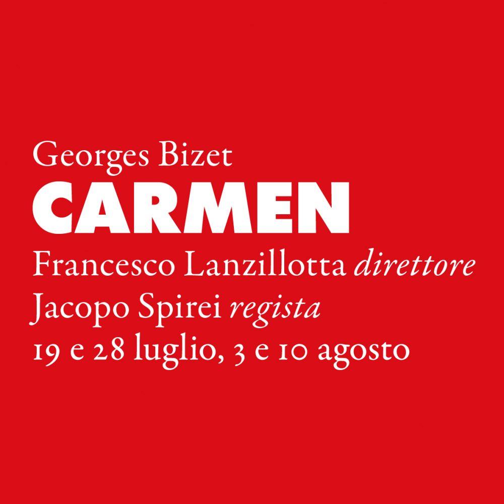 Carmen Sferisterio 2019